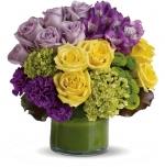 Renkli İthal Gül Çiçek Aranjmanı
