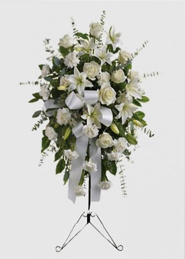 Beyaz Ferforje Açılış Düğün Çiçeği