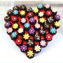 Sevgili Çiçeği Kurabiyeleri