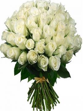 İzmir Çiçek 101 Beyaz Gül Buketi