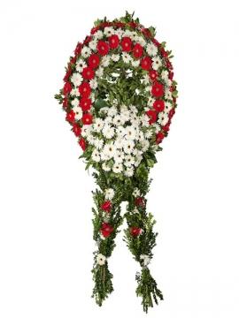 İzmir Çiçek Cenaze çelengi 3