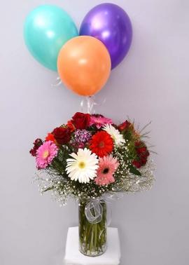 Uçan Balon İzmir Çiçek Tasarımı