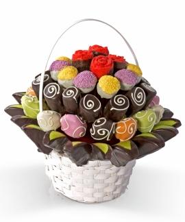 Cheerful Basket Meyve Sepeti