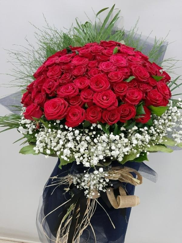 101 Gül Buketi İsteme Nişan Çiçeği