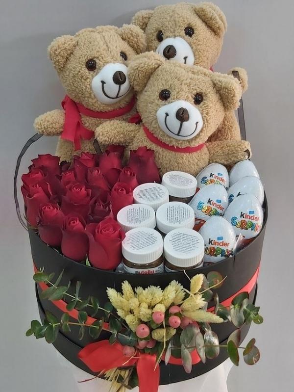 Premium Hediye Çiçek Kutusu