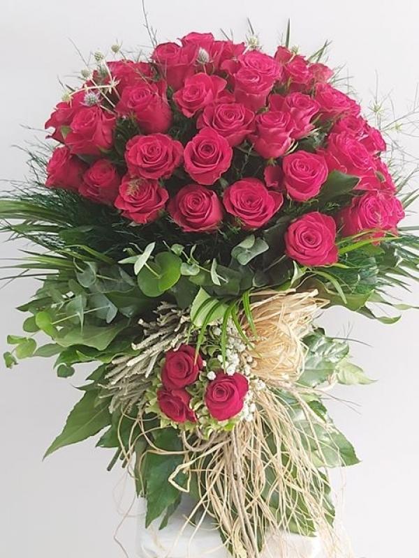 Kız İsteme Çiçeği Özel Tasarım 45 Gül