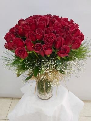 101 Kırmızı Güller