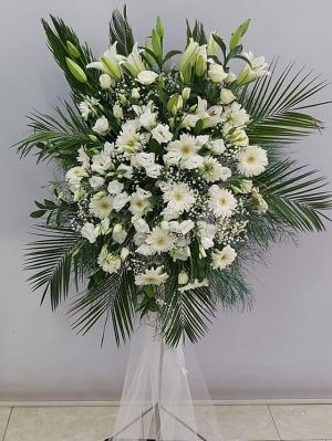 Beyaz Gerbera Ferforje Düğün Açılış