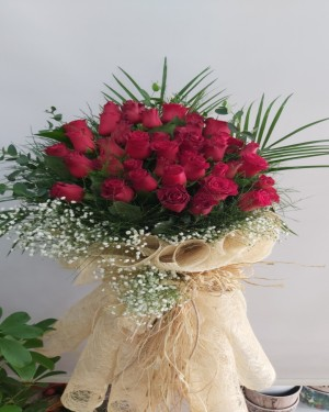 İzmir Çiçek 41 Gül Buketi